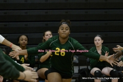 CIAC Girls Volleyball; #5 Goodwin Tech 1 vs. #12 Holy Cross 3 - Photo # (309)