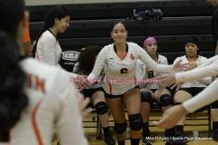 CIAC Girls Volleyball; #5 Goodwin Tech 1 vs. #12 Holy Cross 3 - Photo # (344)