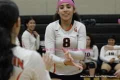 CIAC Girls Volleyball; #5 Goodwin Tech 1 vs. #12 Holy Cross 3 - Photo # (355)