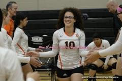CIAC Girls Volleyball; #5 Goodwin Tech 1 vs. #12 Holy Cross 3 - Photo # (366)