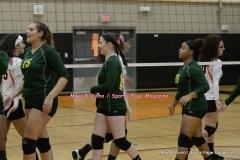 CIAC Girls Volleyball; #5 Goodwin Tech 1 vs. #12 Holy Cross 3 - Photo # (398)