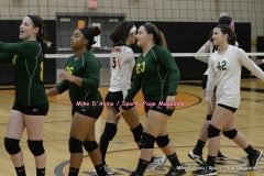 CIAC Girls Volleyball; #5 Goodwin Tech 1 vs. #12 Holy Cross 3 - Photo # (400)