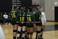CIAC Girls Volleyball; #5 Goodwin Tech 1 vs. #12 Holy Cross 3 - Photo # (407)