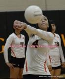CIAC Girls Volleyball; #5 Goodwin Tech 1 vs. #12 Holy Cross 3 - Photo # (62)