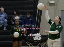 CIAC Girls Volleyball; #5 Goodwin Tech 1 vs. #12 Holy Cross 3 - Photo # (93)