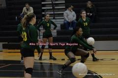 CIAC Girls Volleyball; #5 Goodwin Tech 1 vs. #12 Holy Cross 3 - Photo # (99)