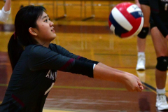 CIAC G. Volleyball; Farmington 3 vs. Hartford Public 0 - Photo # 020