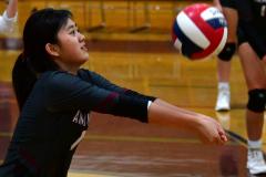 CIAC G. Volleyball; Farmington 3 vs. Hartford Public 0 - Photo # 020