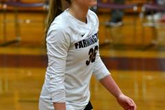 CIAC G. Volleyball; Farmington 3 vs. Hartford Public 0 - Photo # 024