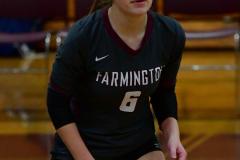 CIAC G. Volleyball; Farmington 3 vs. Hartford Public 0 - Photo # 025