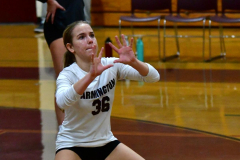 CIAC G. Volleyball; Farmington 3 vs. Hartford Public 0 - Photo # 028