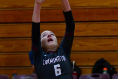 CIAC G. Volleyball; Farmington 3 vs. Hartford Public 0 - Photo # 035