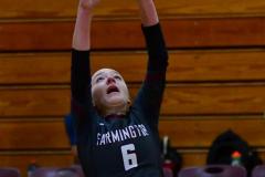 CIAC G. Volleyball; Farmington 3 vs. Hartford Public 0 - Photo # 035