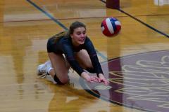 CIAC G. Volleyball; Farmington 3 vs. Hartford Public 0 - Photo # 042