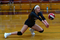 CIAC G. Volleyball; Farmington 3 vs. Hartford Public 0 - Photo # 044