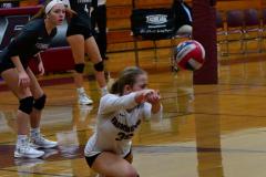 CIAC G. Volleyball; Farmington 3 vs. Hartford Public 0 - Photo # 052