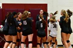 CIAC G. Volleyball; Farmington 3 vs. Hartford Public 0 - Photo # 071