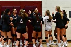 CIAC G. Volleyball; Farmington 3 vs. Hartford Public 0 - Photo # 073