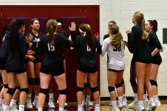 CIAC G. Volleyball; Farmington 3 vs. Hartford Public 0 - Photo # 074