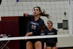 CIAC G. Volleyball; Farmington 3 vs. Hartford Public 0 - Photo # 080