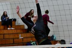 CIAC G. Volleyball; Farmington 3 vs. Hartford Public 0 - Photo # 083
