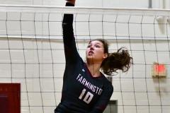 CIAC G. Volleyball; Farmington 3 vs. Hartford Public 0 - Photo # 098