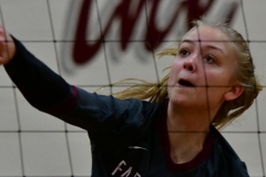 CIAC G. Volleyball; Farmington 3 vs. Hartford Public 0 - Photo # 123