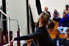 CIAC G. Volleyball; Farmington 3 vs. Hartford Public 0 - Photo # 134