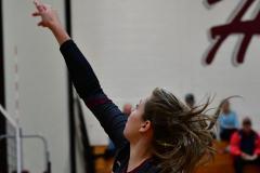 CIAC G. Volleyball; Farmington 3 vs. Hartford Public 0 - Photo # 141