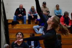 CIAC G. Volleyball; Farmington 3 vs. Hartford Public 0 - Photo # 142