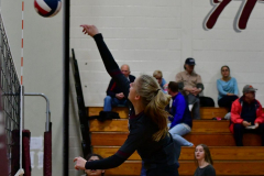 CIAC G. Volleyball; Farmington 3 vs. Hartford Public 0 - Photo # 147
