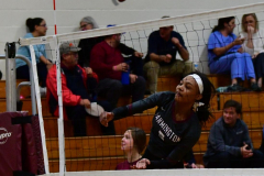 CIAC G. Volleyball; Farmington 3 vs. Hartford Public 0 - Photo # 158