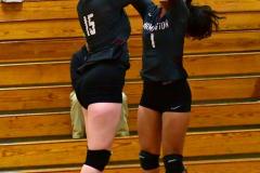 CIAC G. Volleyball; Farmington 3 vs. Hartford Public 0 - Photo # 211