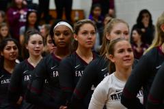 CIAC G. Volleyball; Farmington 3 vs. Hartford Public 0 - Photo # 217