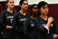 CIAC G. Volleyball; Farmington 3 vs. Hartford Public 0 - Photo # 221