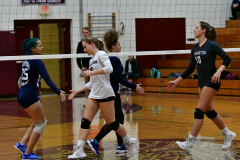 CIAC G. Volleyball; Farmington 3 vs. Hartford Public 0 - Photo # 243