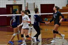 CIAC G. Volleyball; Farmington 3 vs. Hartford Public 0 - Photo # 244
