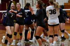 CIAC G. Volleyball; Farmington 3 vs. Hartford Public 0 - Photo # 253