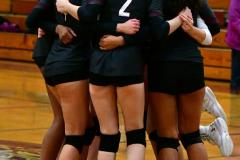CIAC G. Volleyball; Farmington 3 vs. Hartford Public 0 - Photo # 258