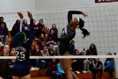 CIAC G. Volleyball; Farmington 3 vs. Hartford Public 0 - Photo # 283