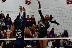 CIAC G. Volleyball; Farmington 3 vs. Hartford Public 0 - Photo # 284