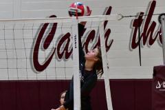 CIAC G. Volleyball; Farmington 3 vs. Hartford Public 0 - Photo # 286