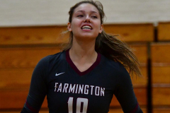 CIAC G. Volleyball; Farmington 3 vs. Hartford Public 0 - Photo # 288