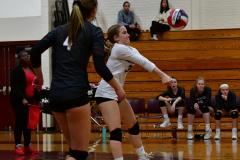CIAC G. Volleyball; Farmington 3 vs. Hartford Public 0 - Photo # 290