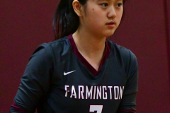 CIAC G. Volleyball; Farmington 3 vs. Hartford Public 0 - Photo # 294
