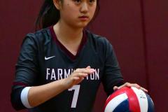 CIAC G. Volleyball; Farmington 3 vs. Hartford Public 0 - Photo # 295
