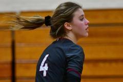 CIAC G. Volleyball; Farmington 3 vs. Hartford Public 0 - Photo # 311