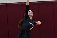 CIAC G. Volleyball; Farmington 3 vs. Hartford Public 0 - Photo # 320