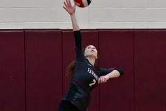CIAC G. Volleyball; Farmington 3 vs. Hartford Public 0 - Photo # 332