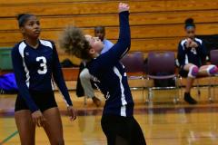 CIAC G. Volleyball; Farmington 3 vs. Hartford Public 0 - Photo # 336